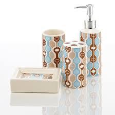 Royal Blue Bathroom Accessories Royal Club Ceramic Bath Accessories Set