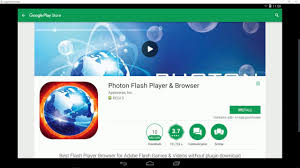 android flash browser install photon flash browser on android smartphone or tablet