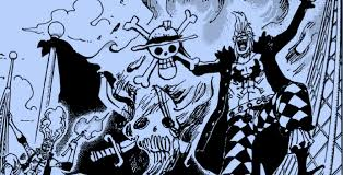 Burning Red Flag Shanks Vs Bartolomeo One Piece Gold