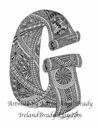 203 best zentangle letters images on pinterest zentangles