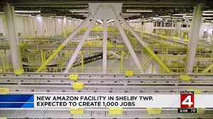 Amazon Is Hiring 5 000 Amazon To Create 1k Jobs With New Shelby Township Fulfillment