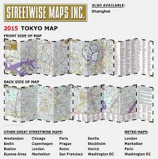 Street Map Of Boston by Streetwise Tokyo Map Laminated City Center Street Map Of Tokyo