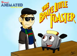 What Year Was The Brave Little Toaster Made Hamr The Brave Little Toaster Title Card By Hewytoonmore On