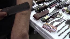 sharpest bone razor in the world youtube