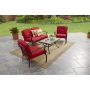 Red Patio Set by Discount Patio Furniture