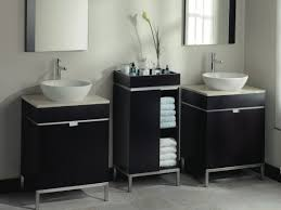 vanité chambre de bain vanite studio hauteur miroir salle bains bain idees decoration