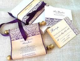 indian wedding scroll invitations wedding invitations scrolls pirate gold scroll wedding invitation