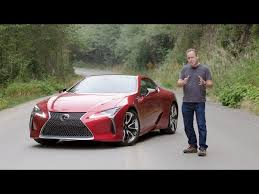 abby lexus 2018 lexus lc500 v8 coupe reviewed with loop