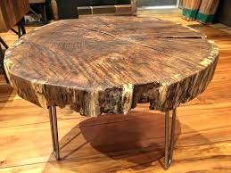 live edge round table live edge round coffee table legs moneyfit co