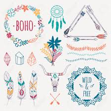 13 644 boho borders stock illustrations cliparts and royalty free