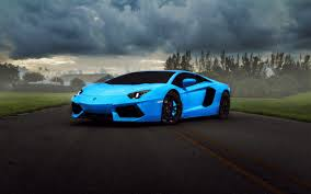 lamborghini car blue lamborghini car wallpaper
