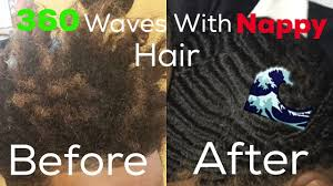 Nappy Hair Meme - how to get 360 waves with nappy hair 2017 youtube