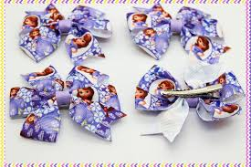 sofia the ribbon 3 1 free shipping sofia the ribbon bows with hair clip
