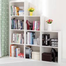 3 shelf narrow bookcase wooden bookcase 3 shelf narrow bookcase stand cube storage unit