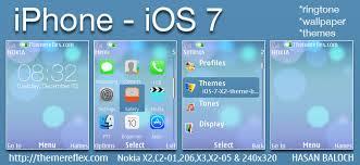 themes java nokia 2700 iphone ios 7 theme for nokia x2 00 x2 02 x2 05 x3 00 c2 01