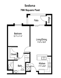 Floor Plans And Prices by Senior Living Floor Plans U0026 Prices Surprise Az