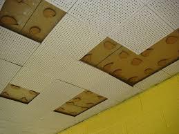 Vintage Ceiling Tile U0026 Asbestos Adhesive Partial View C U2026 Flickr