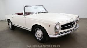 Buy Used Cars Los Angeles Ca 1967 Mercedes Benz 250sl For Sale Near Los Angeles California