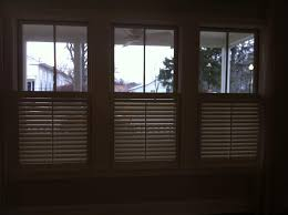 1 2 shutters or cafe style are becoming really popular lately