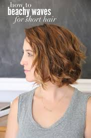 how to get beachy waves on shoulder lenght hair get beach waves with a straightener hair nails makeup