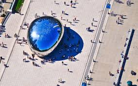 The Bean Chicago Map by America U0027s Most Beautiful Landmarks Travel Leisure