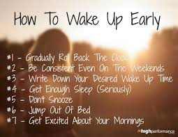 Wake Up Everybody No More Sleeping In Bed How To Wake Up Early The Secret Of Crazy Successful People