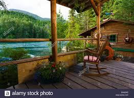 rustic cabin rustic cabin porch with chair at alaska river u0027s company in cooper