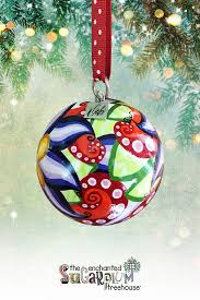 debi studios painted ornaments gnomes
