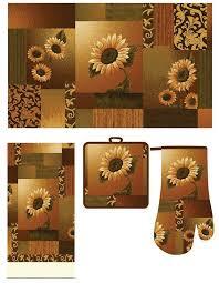 Sunflower Kitchen Rugs 140 Best Sunflower Kitchen Images On Pinterest Cross Stitch