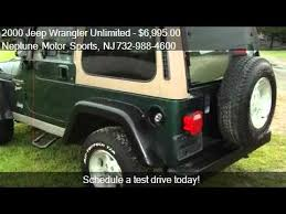 2000 jeep wrangler top 2000 jeep wrangler unlimited sport top top for s