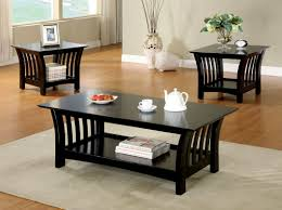 coffee table coffee table end set tv stand black tables and