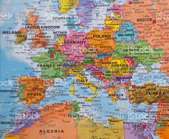 a map of europe with countries europe regions and map of european countries world maps