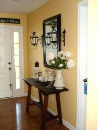 Mirror And Table For Foyer Console Table Entryway Decor Foyer Mirror Set Modern