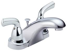 delta foundations b2510lf two handle centerset bathroom faucet