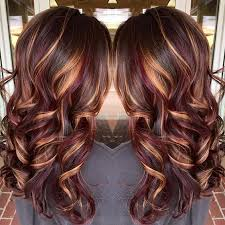 hair colour trands may 2015 ruby and gold highlights hair tips hair care pinterest