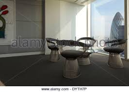 Warren Platner Chair Warren Platner Chairs In Office Reception Area With White Marble