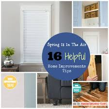 Spring Home Tips Spring Is In The Air 10 Helpful Home Improvement Tips Make It