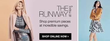 the runway stores t j maxx