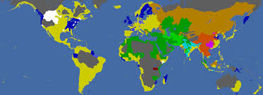 World Religions Map by Post Your Europa Universalis 4 Empire Page 161 Paradox