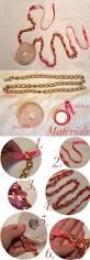 Diy Fashion Projects Diy Fashion Ribbon Brooch Necklace Diy Projects Usefuldiy Com