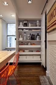 kitchen kitchen storage ideas with brick veneer and engineered