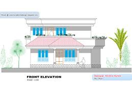 kerala home plan and elevation 1300 sq feet kerala home