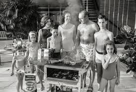 family cookout 1963 shorpy 1 old photos