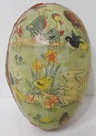 vintage paper mache easter eggs 57 best paper mache eggs images on easter eggs paper