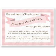 baby shower instead of a card bring a book 36 best backyard baby q images on baby shower