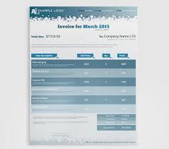 corporate invoice template by pmvchamara on creative market