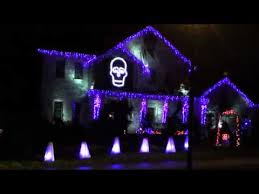 halloween light show 2011 ghostbusters youtube
