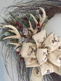 image result for deer antler wreath deer antlers
