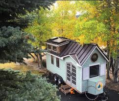 Small Eco Houses A Beautiful Tiny House On Wheels In Dallas Built By Its Owners
