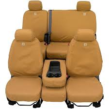 Ford Ranger Truck Seats - carhartt custom duck weave seat covers covercraft